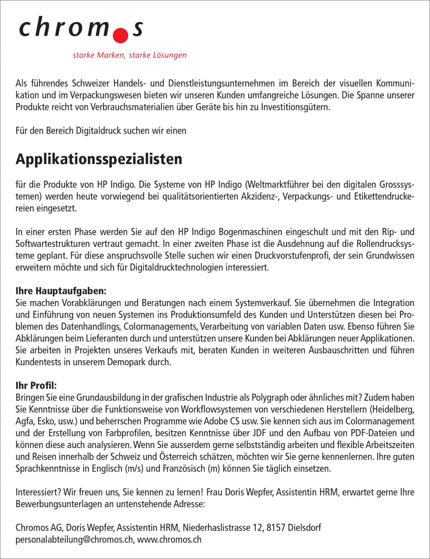 Applikationsspezialisten